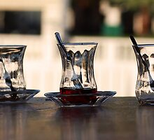 Turkish Tea - Istanbul, Turkey by rjhphoto