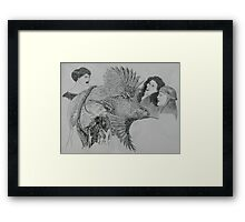 The Hummingbird Framed Print