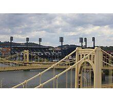 Bridges and  PNC Park  Photographic Print