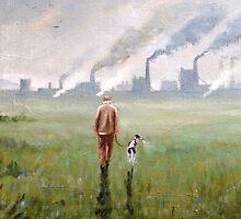 Quiet fields by Steve Sanderson