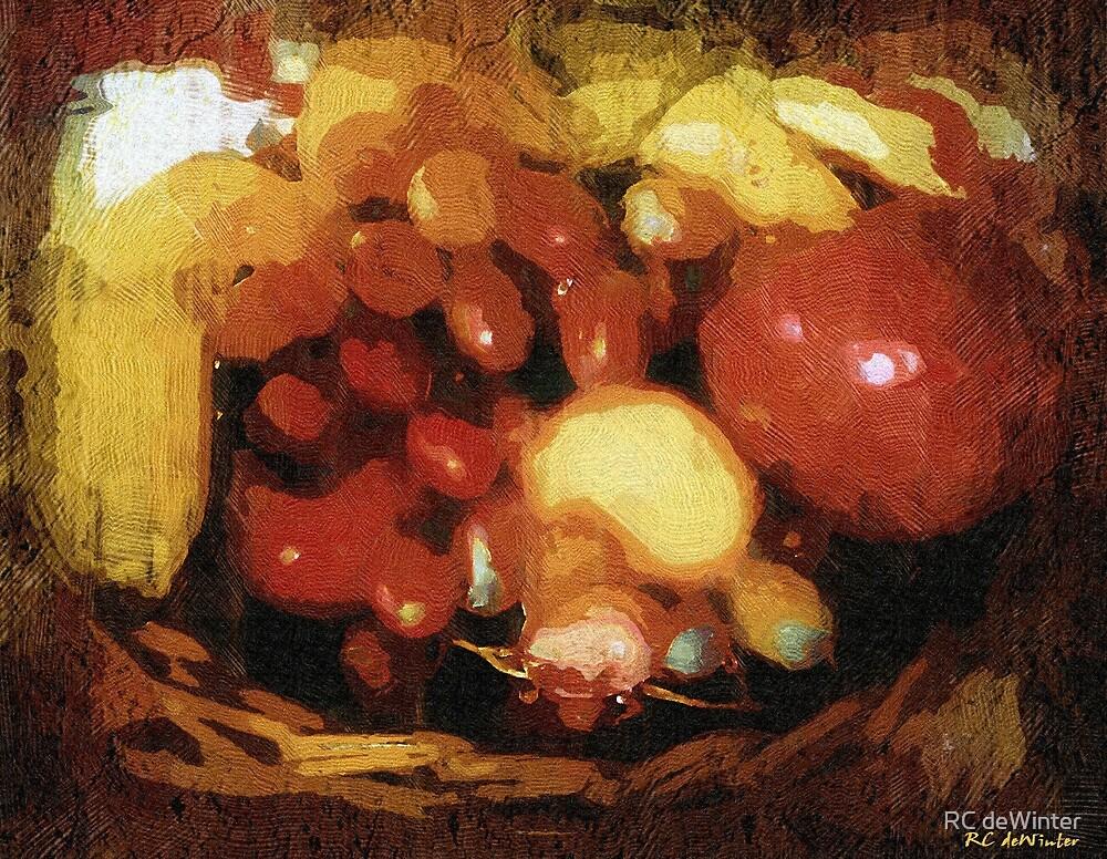 Earthtone Fruit Fresco by RC deWinter