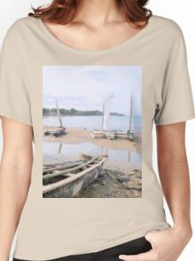 a desolate Sao Tome and Principe landscape Women's Relaxed Fit T-Shirt