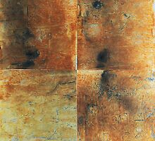 Speeches Oxide 1 - abstract painting on canvas by Marco Sivieri