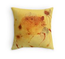 Bios Logos 1 - orignal acrylic abstact painting on canvas Throw Pillow