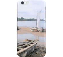 a desolate Sao Tome and Principe landscape iPhone Case/Skin