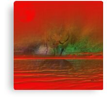 Magic Moments- Abstract  Art + Products Design  Canvas Print
