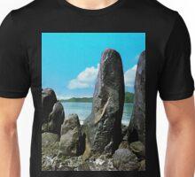 a historic Sao Tome and Principe landscape Unisex T-Shirt