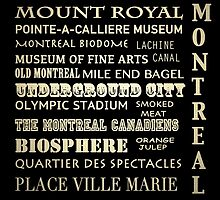 Montreal Quebec Famous Landmarks by Patricia Lintner