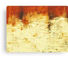 Venice Wall 2 - original acrylic abstract painting on panel Canvas Print