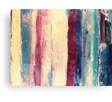 Waters 3 - original abstract acrylic painting on canvas Canvas Print