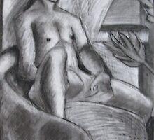 Sitting Man by Hannah Kenny