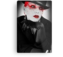 Vanity: Addicted to a Life of Material Metal Print