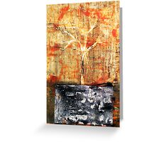 Roots - original acrylic painting on canvas Greeting Card