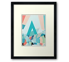 Abstract A Framed Print