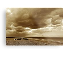 Norfolk beach Metal Print