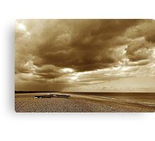 Norfolk beach Canvas Print