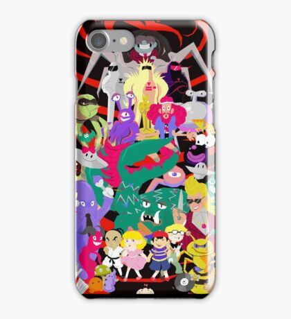 The War against Giygas! iPhone Case/Skin