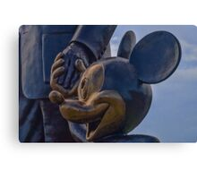 """""""Partners"""" - Mickey Mouse and Walt Disney Canvas Print"""