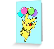 Pikachu Used Fly! Greeting Card