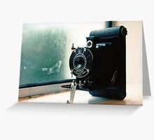 Kodak Vest Pocket Autographic Greeting Card