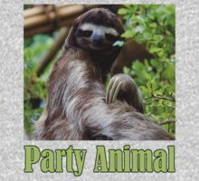 Party Animal - The Sloth Kids Tee