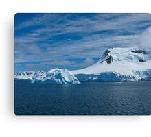 Antarctic Coastline Canvas Print