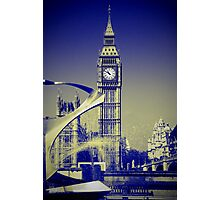 Big Ben: London UK: The Story of the Bell Photographic Print