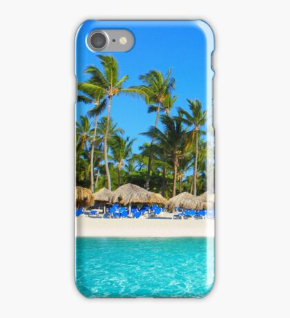 Postcard from Punta Cana, The Dominican Republic iPhone Case/Skin