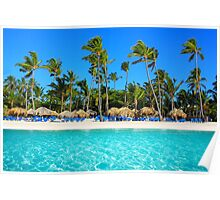 Postcard from Punta Cana, The Dominican Republic Poster