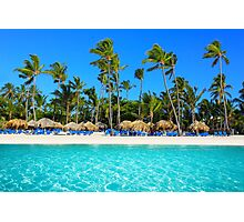 Postcard from Punta Cana, The Dominican Republic Photographic Print