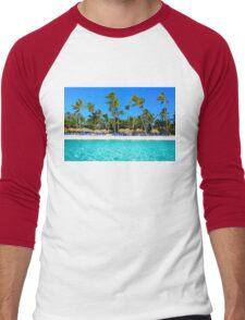 Postcard from Punta Cana, The Dominican Republic Men's Baseball ¾ T-Shirt