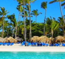 Postcard from Punta Cana, The Dominican Republic Sticker