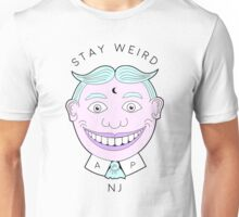 Stay Weird, NJ.  Unisex T-Shirt