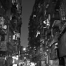 Guangzhou by night by PhilippeStephan
