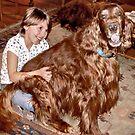 Lap Dog by Barb Miller