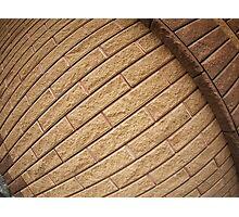 Decorative brickwork Photographic Print