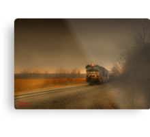 """"""" Rail  """"  Metal Print"""