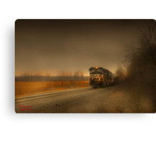 """"""" Rail  """"  Canvas Print"""