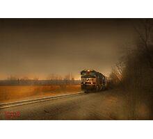 """ Rail  ""  Photographic Print"