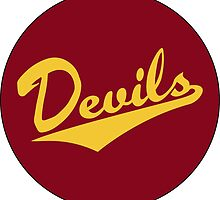 Retro Arizona State University Sun Devils by dswift