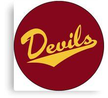 Retro Arizona State University Sun Devils Canvas Print