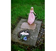 Baby Evelyn's Grave Photographic Print