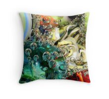 Marble with mineral water II Throw Pillow