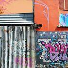 Fitzroy Graffiti #4 by Roz McQuillan