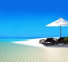 Postcard from Anse Lazio beach at Praslin island, Seychelles by Atanas Bozhikov NASKO