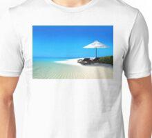 Postcard from Anse Lazio beach at Praslin island, Seychelles Unisex T-Shirt