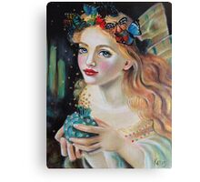 Fairy Dust, Kim Turner Art, Original Art Canvas Print