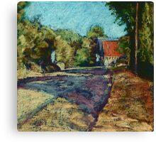 Dordogne Landscape Canvas Print