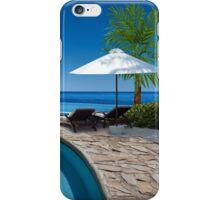 Postcard from Anse Lazio beach at Praslin island, Seychelles iPhone Case/Skin
