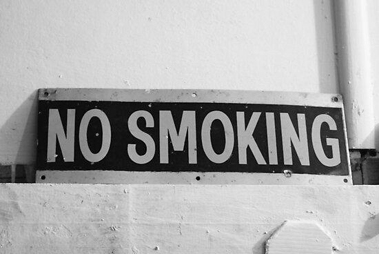 No Smoking by Adam Jones